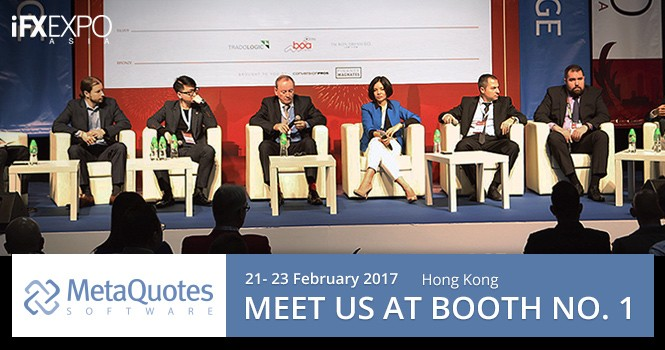 MetaQuotes Software will participate in iFX Expo Asia 2017