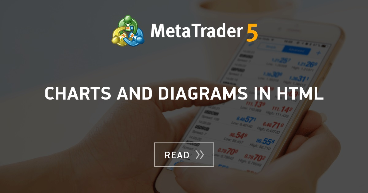 Charts and diagrams in HTML - MQL5 Articles