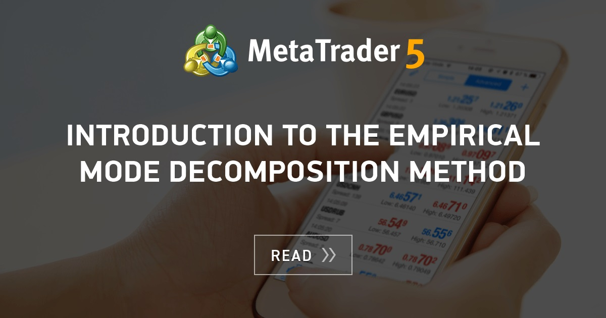 Introduction to the Empirical Mode Decomposition Method