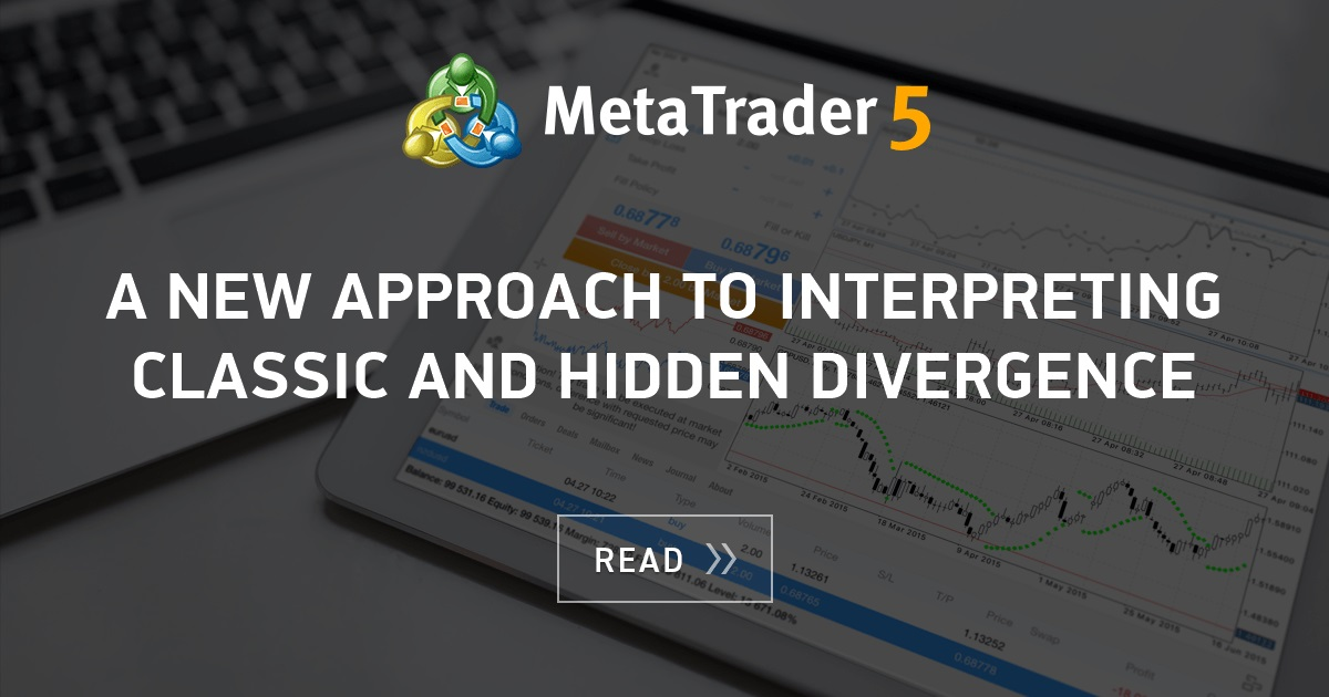 A New Approach To Interpreting Classic And Hidden Divergence