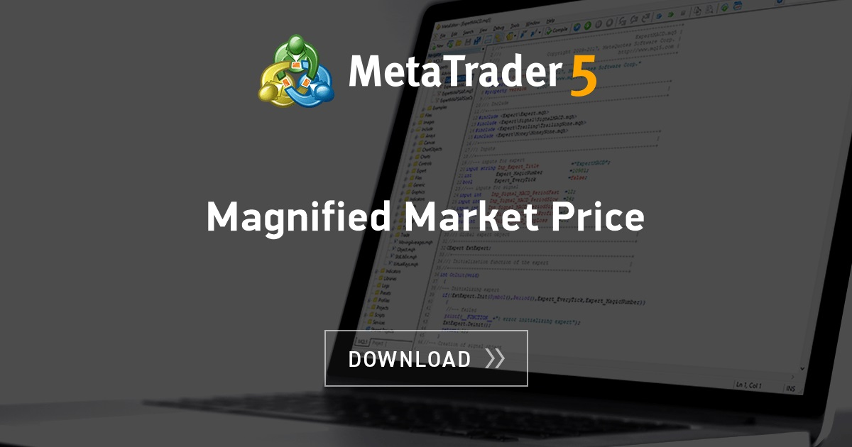 Free Download Of The Magnified Market Price Indicator By