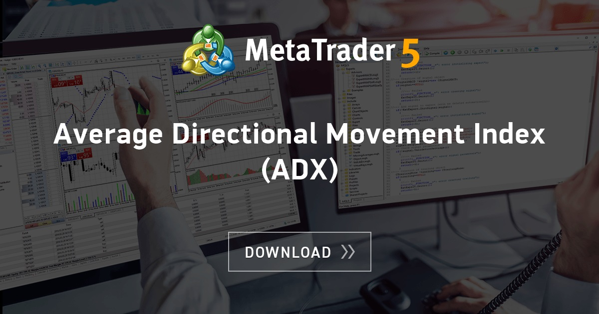 Free Download Of The Average Directional Movement Index Adx