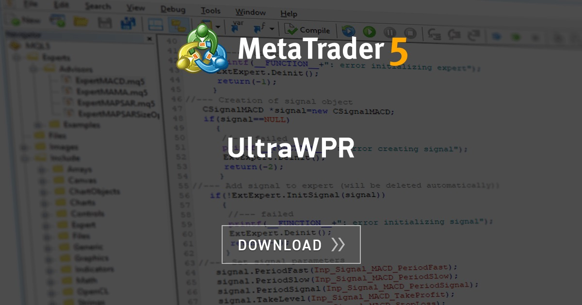 Free Download Of The Ultrawpr Indicator By Godzilla For