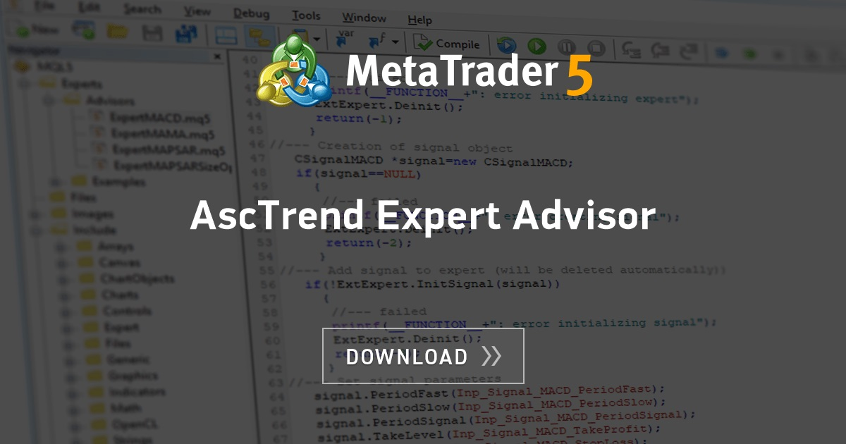 Free Download Of The Asctrend Expert Advisor Expert By