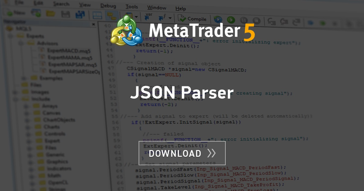 Free Download Of The Json Parser Library By Ydrol For