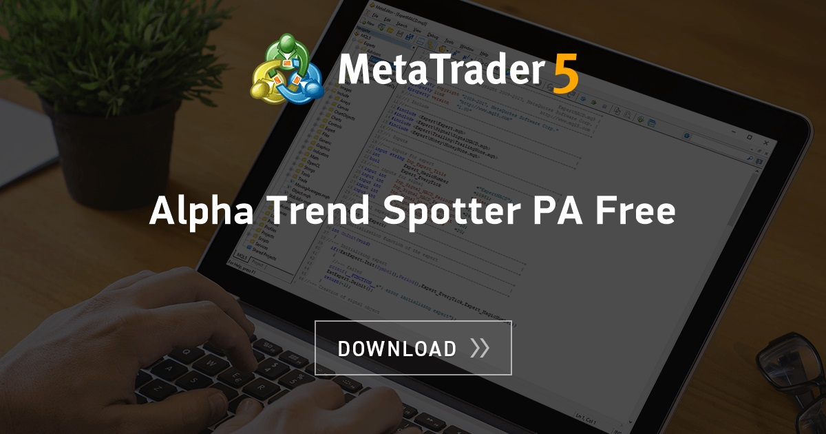 Free download of the 'Alpha Trend Spotter PA Free' indicator by