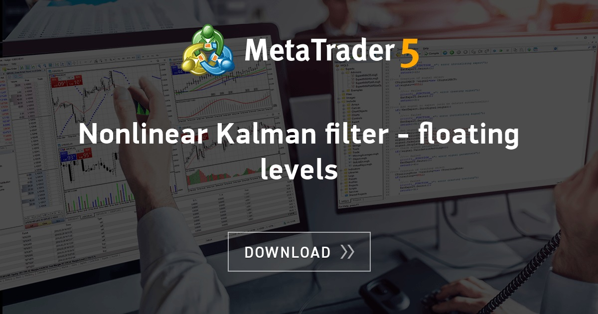 Free download of the 'Nonlinear Kalman filter - floating levels