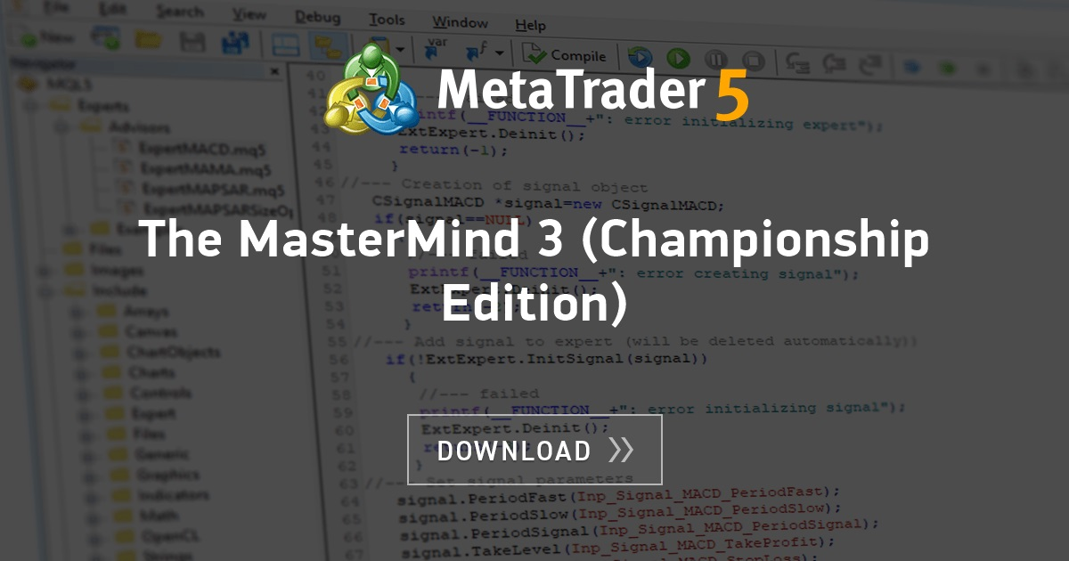 Free download of the 'The MasterMind 3 (Championship Edition
