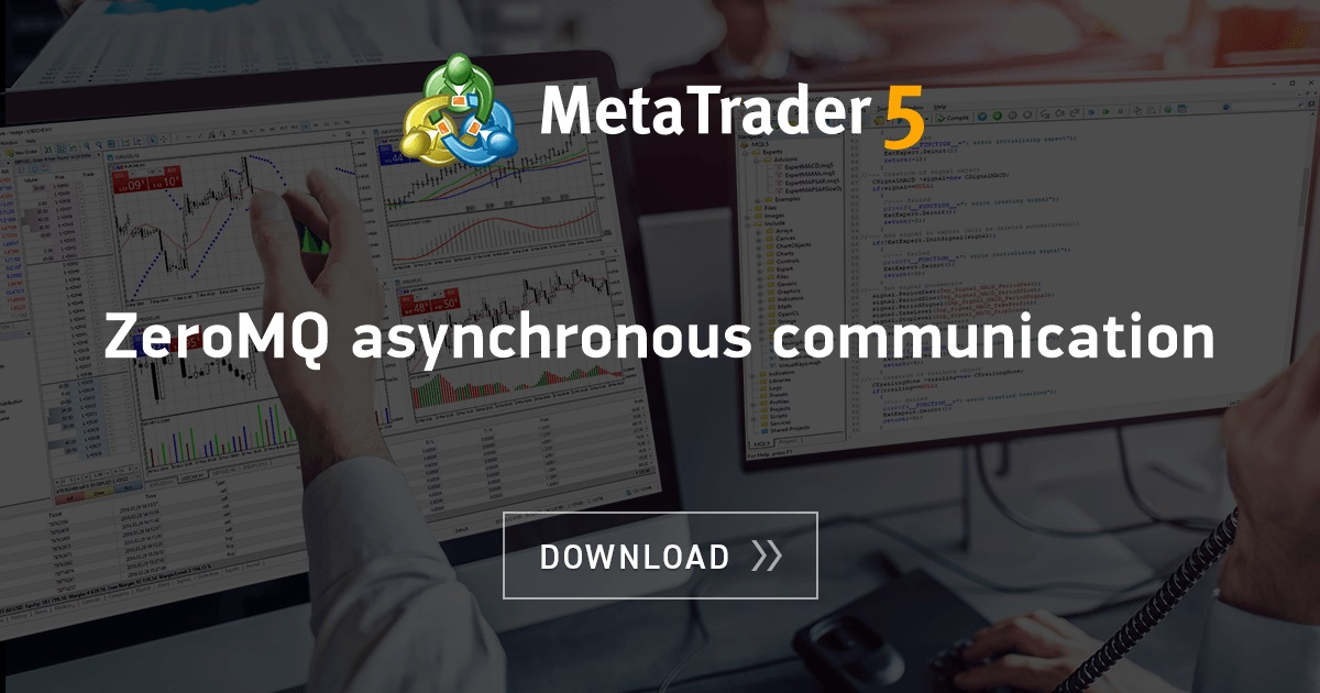 Free download of the 'ZeroMQ asynchronous communication' library by