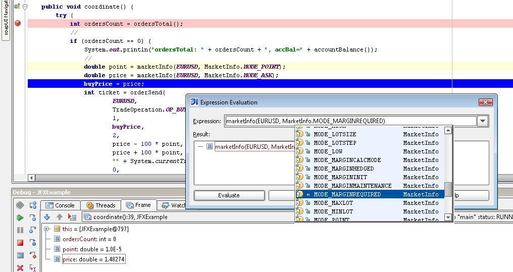 MT4-Java API - MetaTrader 5 - MQL4 and MetaTrader 4 - MQL4