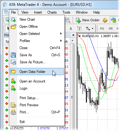 Data Structure in MetaTrader 4 Build 600 and Higher