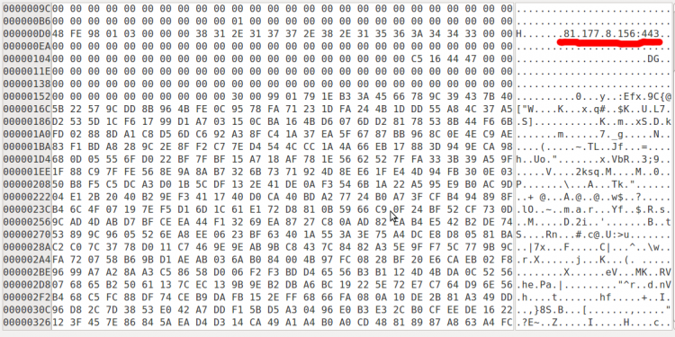 srv file in hexreader