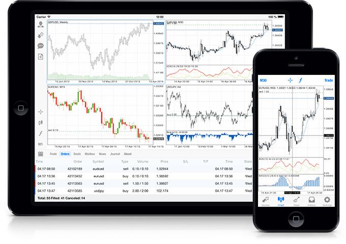 MetaTrader 5 iOS 新版本已经发布