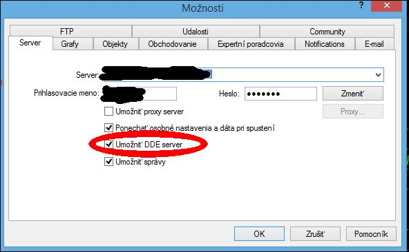 Excel 2013 and live data import via DDE - MT4 - MQL4 and