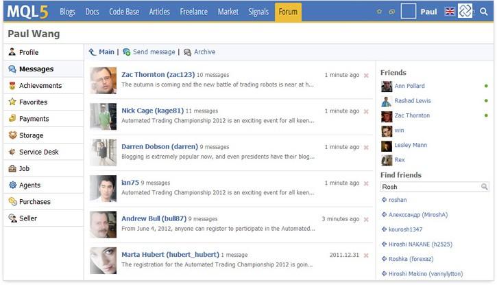 MQL5.community Chat