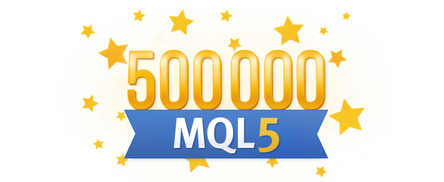 More than half a million traders have MQL5.com accounts