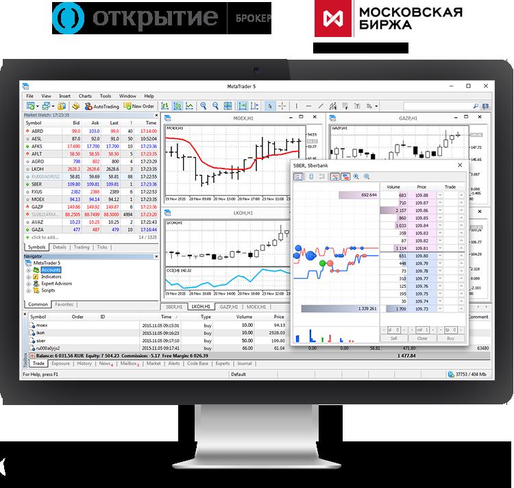 «Открытие Брокер» запускает MetaTrader 5 на фондовом рынке