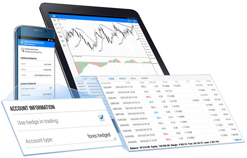 New MetaTrader 5 Android build 1262 features hedging