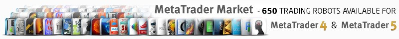 MetaTrader Market: we have 650 Expert Advisors for algorithmic trading!