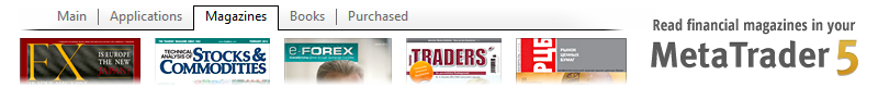 MetaTrader Market Now Features Magazines!