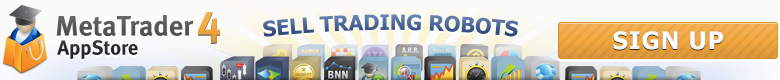 Sell your trading robots with MetaTrader 4 AppStore