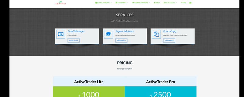 Active Trader Int